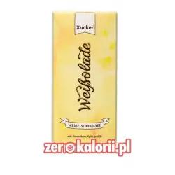 Biała Czekolada z ksylitolem BEZ CUKRU Xucker 100g