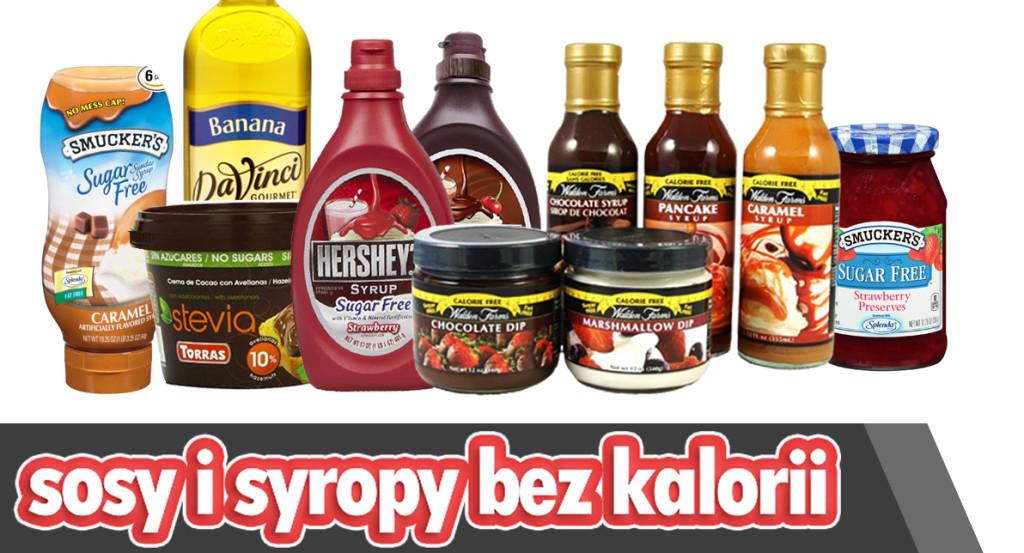 syropy i dipy bez kalorii