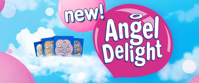 Angel Delight bez cukru
