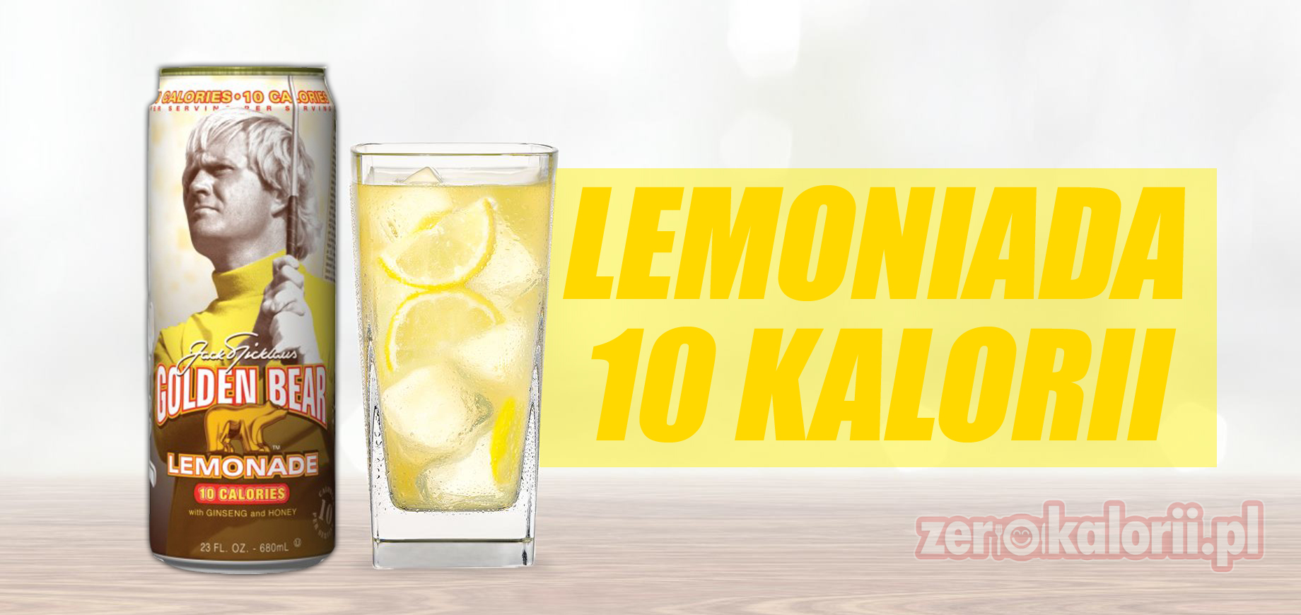 lemoniada golden bear 10 kalorii