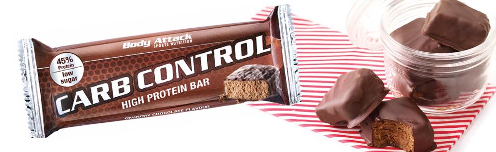 baton białkowy carb control