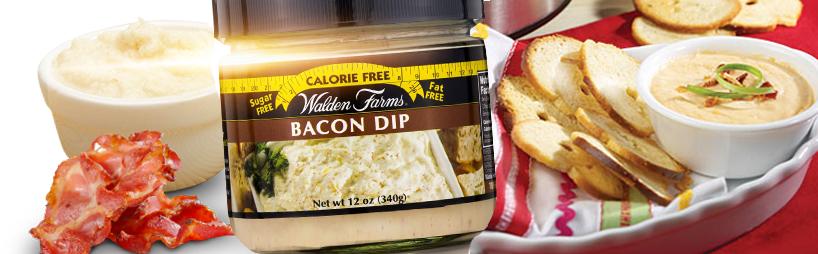 walden farms dip bacon