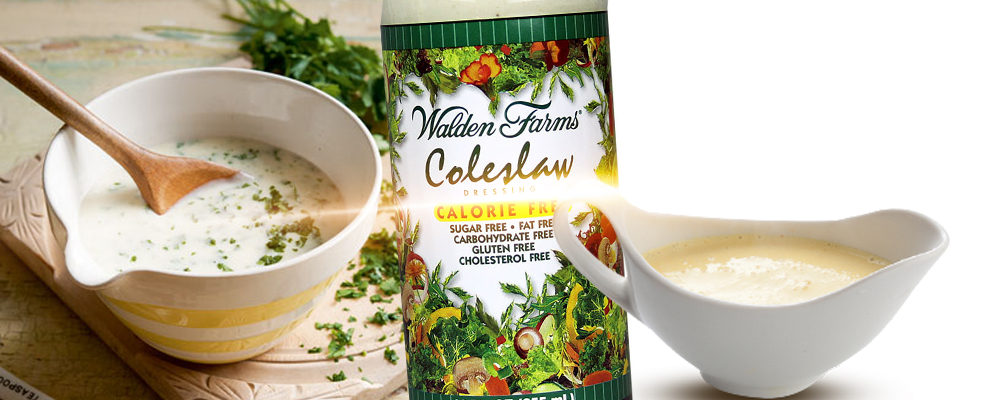 dressing walden farms coleslaw zero kalorii