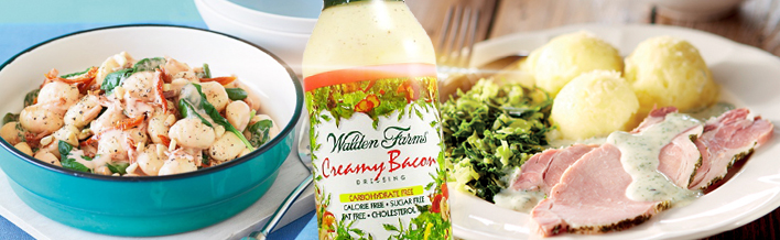 Walden farms creamy bacon dressing