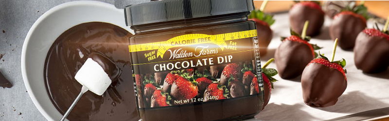 chocolate dip walden farms
