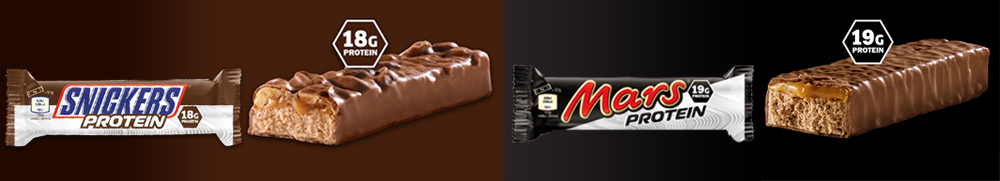 mars i snickers protein.