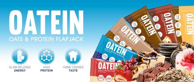 oatien flapjack protein