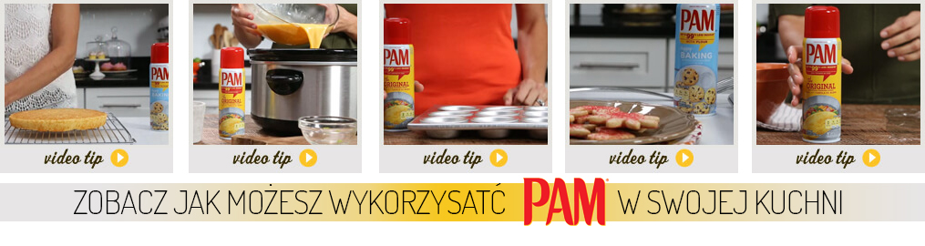 kanał You Tube pam cooking spray