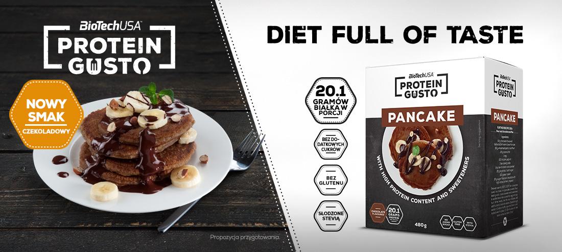 protein gusto pancake chocolate