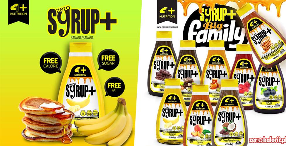 syrup zero kalorii 4+ banan