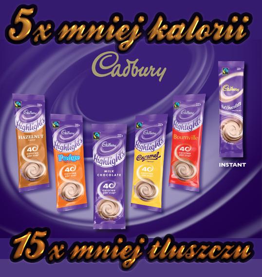 Highlights cadbery chocolate