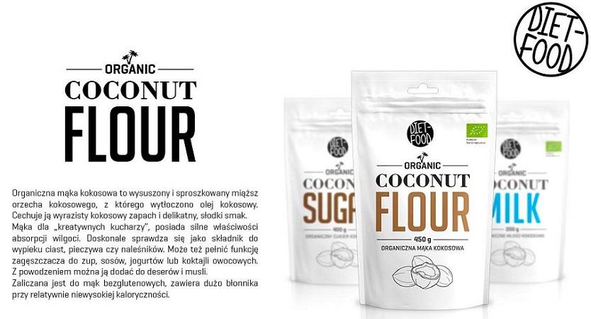 bio mąka kokosowe diet-food