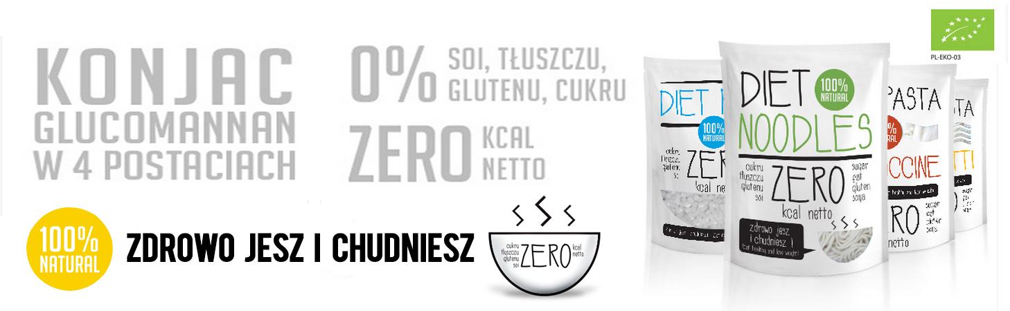 baner 1 makarony zero kalorii