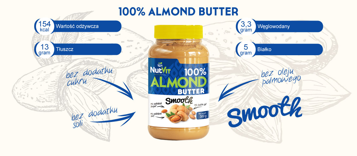 almond butter smooth nutvit