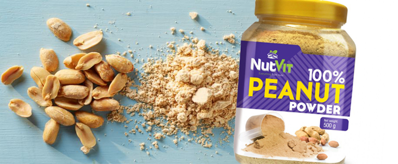 mąka z orzeszków ziemnych nutvit