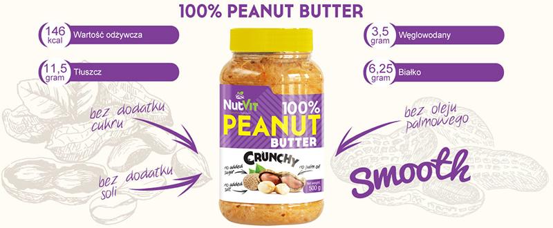 nutvit crunch peanut butter