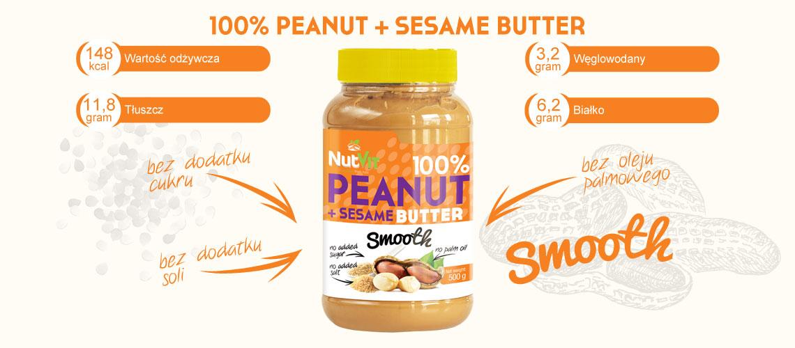 peanut + sesame butter nutvit