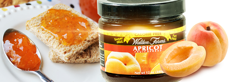 walden farms fruit spread apricot