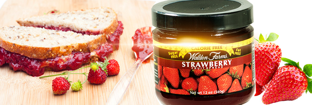 walden farms fruit spread strawberrt