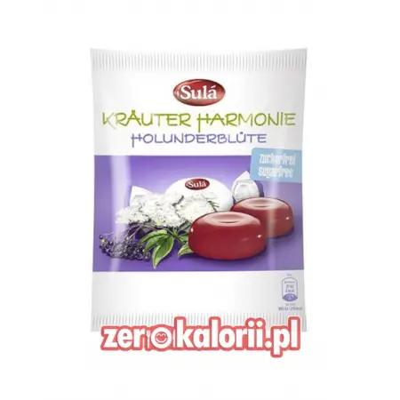 Cukierki Ziołowe Czarny Bez Sula 125g BEZ CUKRU, Sugar free