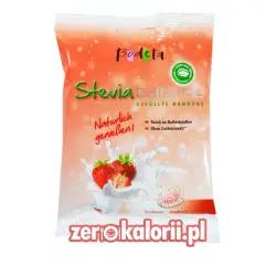 Cukierki ze Stewią Truskawka-Jogurt Bodeta 75g BEZ CUKRU, Sugar Free