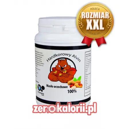 Masło Orzechow - HARDKOROWY ALVIN 1kg