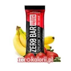 Zero Bar Biotech 50g - Truskawkowo-Bananowy
