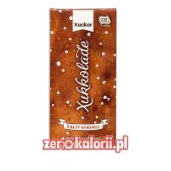 Czekolada mleczna z ksylitolem, sól i karmel BEZ CUKRU Xucker 100g