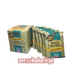 Banana Walnut Baked Squares 20g Białka