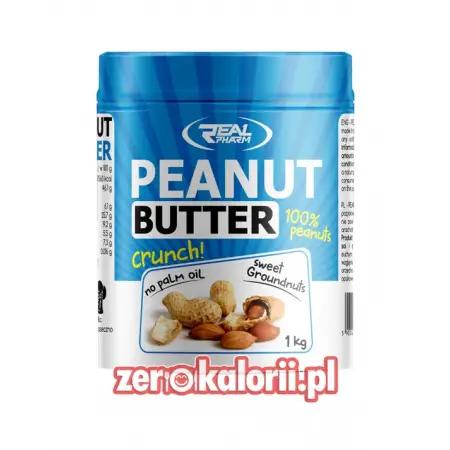 Penaut Butter Masło Orzechowe Crunchy 1000g RealPharm
