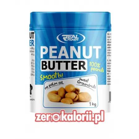 Penaut Butter Masło Orzechowe Smooth 1000g RealPharm