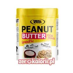 Masło Orzechowe z Solą Himalajską 1kg, Real Pharm