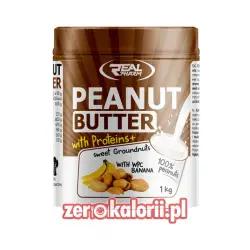 Penaut Butter WPC Masło Orzechowe o smaku Bananowym 1kg