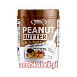 Penaut Butter WPC Masło Orzechowe o smaku Wiśnia-Czekolada 1kg Real Pharm