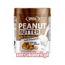 Penaut Butter WPC Masło Orzechowe o smaku Ciastko 1kg Real Pharm