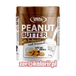 Penaut Butter WPC Masło Orzechowe o smaku Naturalnym 1kg Real Pharm
