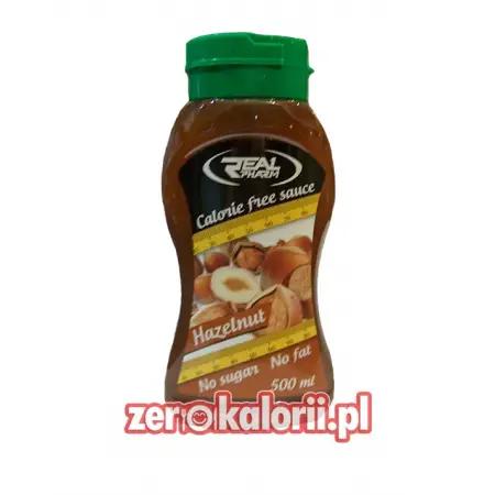Syrop Orzech Laskowy Hazelnut 500 ml Zero Kalorii Real Pharm