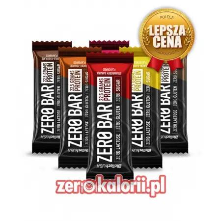 Zero Bar Biotech wszystkie smaki 6x50g + 1gratis
