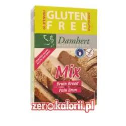 Mieszanka na ciemny chleb bez glutenu BIO EKO 400g Dambert