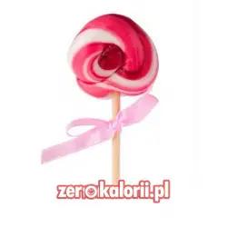 Lizak o smaku truskawkowym BEZ CUKRU, 20g