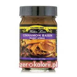 Masło Orzechowe Cynamon & Rodzynki Raisin-Cinnamon Walden Farms ZERO KALORII