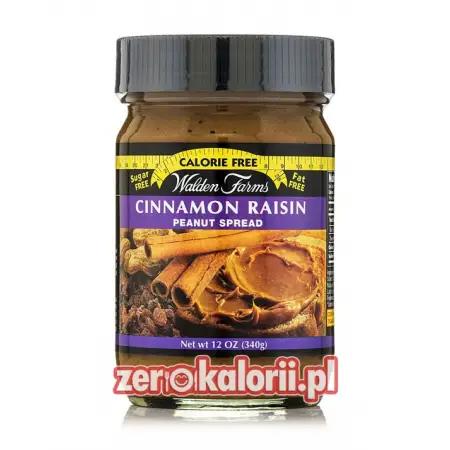 Masło Orzechowe Cynamon & Rodzynki ZERO KALORII