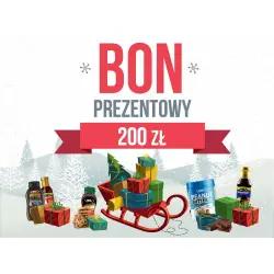 Świąteczny BON ZAKUPOWY - 200zł