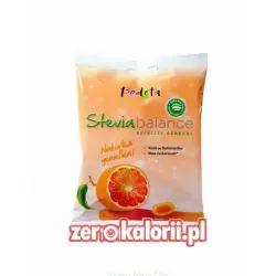 Cukierki ze Stewią Czerwona Pomarańcza Bodeta 75g BEZ CUKRU, Sugar Free
