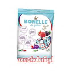 Żelki o smaku jeżyny i truskawki BEZ CUKRU Bonelle 90g