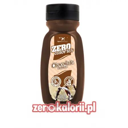 Syrop Czekoladowy Zero Kalorii, 320ML Sport Definition