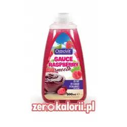 Syrop Malinowy Sauce Raspberry, Ostrovit Zero Kalorii