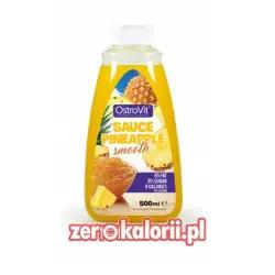 Syrop Ananasowy Sauce Pineapple, Ostrovit Zero Kalorii