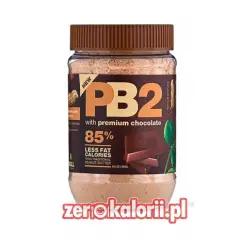 Odtłuszczone Masło Czekoladowo Orzechowe PB2 184g w proszku