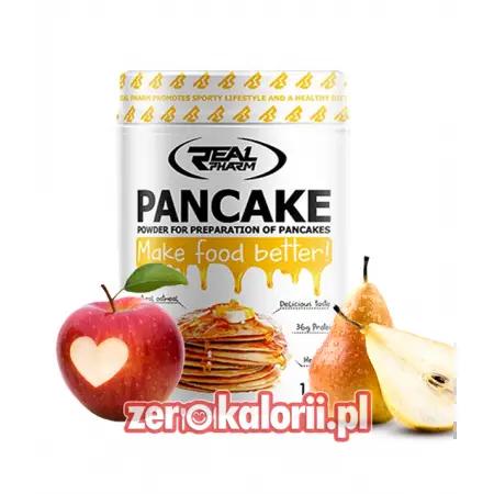 Pancakes Real Pharm 1kg Smak Jabłko Gruszka - Wysoko białkowe naleśniki